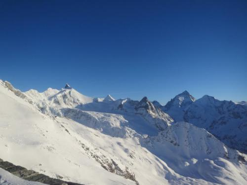 IMG 5608 Col du Milan, Zinalrohorn, Arete du Blanc...